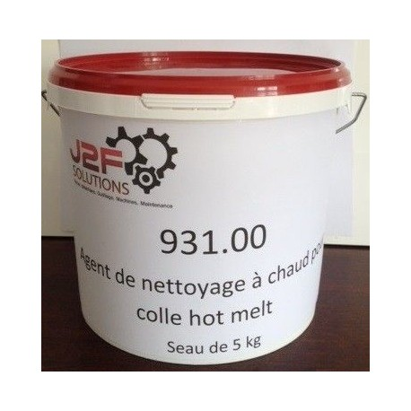 AGENT DE NETTOYAGE COLLE HOT-MELT